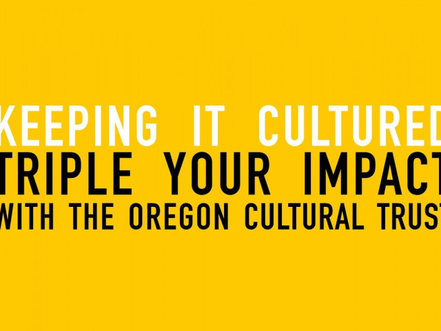 Willamette Week Urges Donors to Cultural Nonprofits to Give to the Trust, Too.