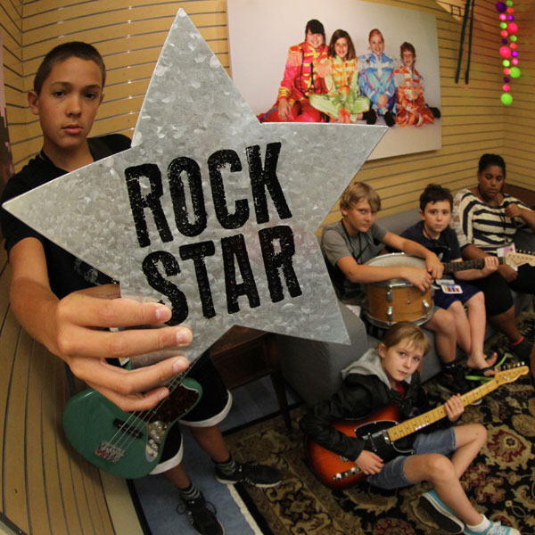 Be a Rock Star!